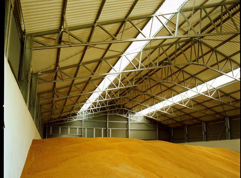 Хранение зерна в складах и элеваторах плас элеватора