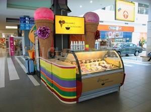 продажа мороженого