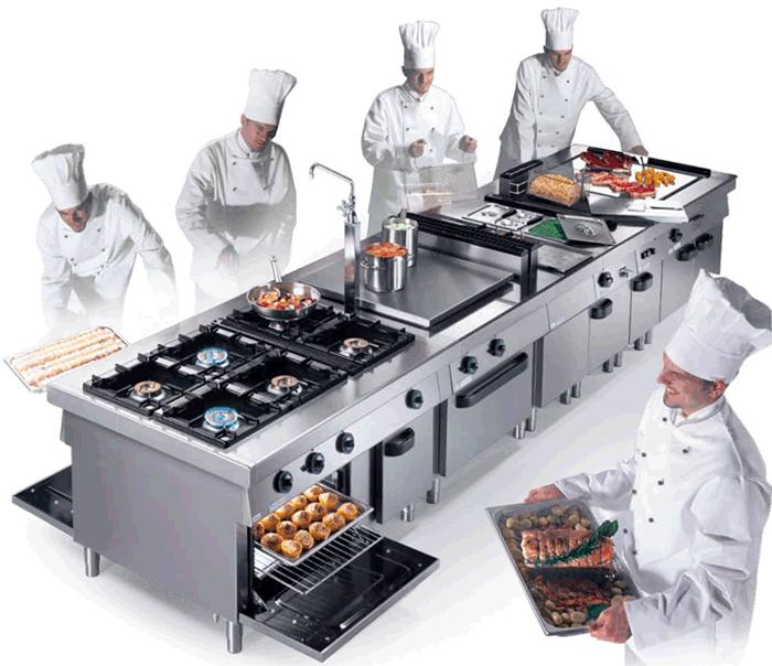 Тепловое оборудование для ресторана