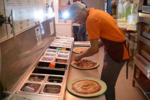 технология работы пиццерии