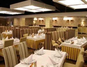 освещение в ресторанах