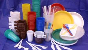 Одноразовая пластиковая тара